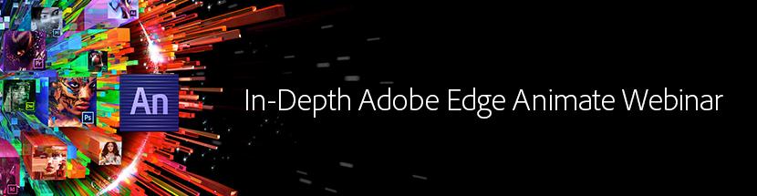 Edge Animate Webinar Banner